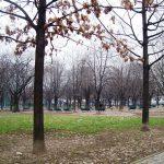 Milano. Nel parco di Baravalle campi da basket e vialetti pedonali