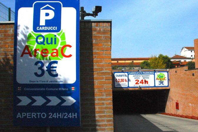 Parcheggio Milano Centro Carducci