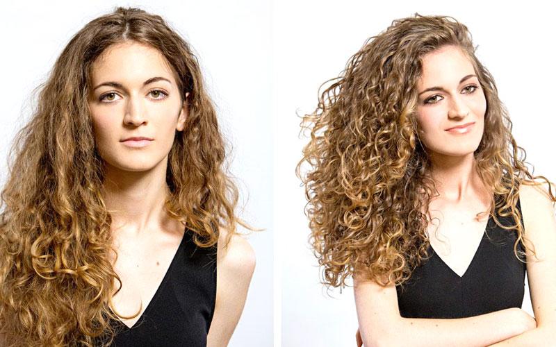 Prima e dopo il trattamento ILoveRiccio foto 1