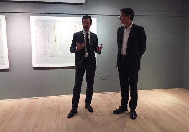 Milano Spazi Invisibili Ljubodrag Andric insieme ad Alessandro Ruggera