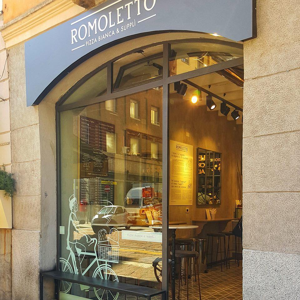 Romoletto Milano vetrina