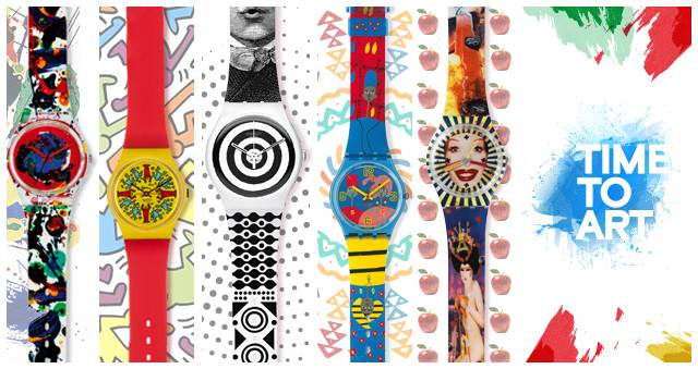 Milano Swatch Time To Art
