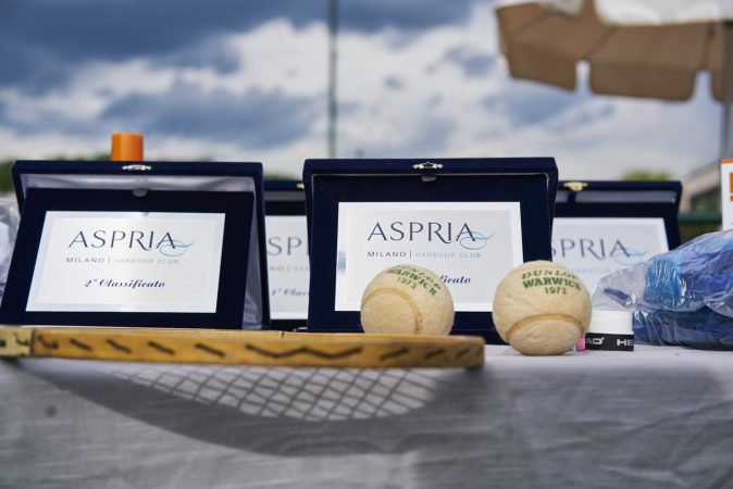 Tennis Vintage Aspria Harbour Club Gesti Bianchi