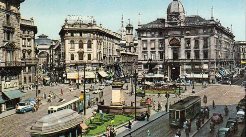 Milano piazza Cordusio
