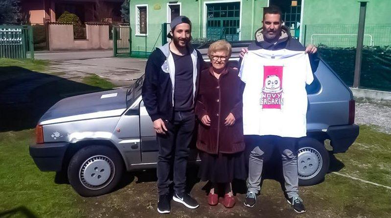 Panda Novy Gagarin - Mongol Rally 2018