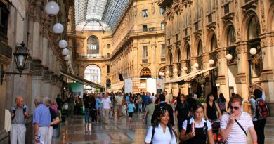 Be a turist in Milan