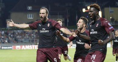 Higuain decide l'esordio europeo del Milan