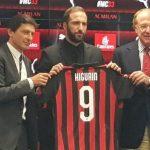 Arriva la prima rete in rossonero di Gonzalo Higuain