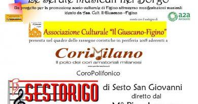 serate musicali nel borgo Figino Milano