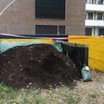 Milano. Self service di compost in via Giambellino 125