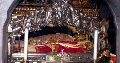 le reliquie di Sant'Ambrogio