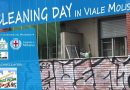 Cleaning day in Viale Molise