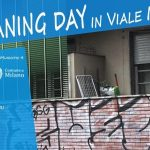 Milano Cleaning day in Viale Molise