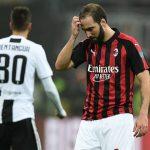 Confermato stop per Gonzalo Higuain: salterà Lazio e Parma