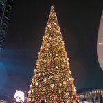 Albero di Natale Gae Aulenti di Esselunga