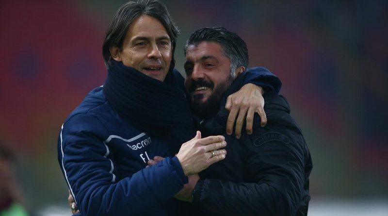 Inzaghi e Gattuso