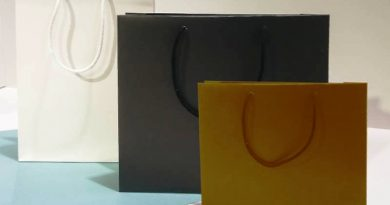 le shopper in carta lusso