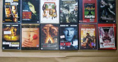 salvare la collezione di DVD