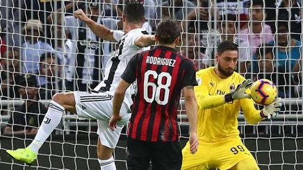 Cristiano Ronaldo Milan ko in Supercoppa Italiana