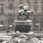 Neve a Milano: attivato il Coc, posizionati i mezzi AMSA