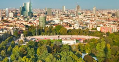 Colosseo verde Milano