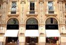 negozio Prada in Galleria a Milano