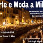Arte e Moda a Milano dal 13 al 24 febbraio presso Arcadia Art Gallery