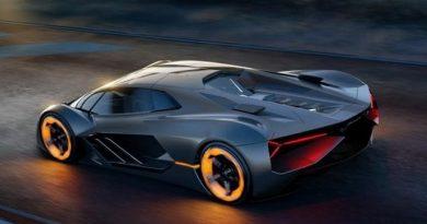 Lamborghini fuori controllo