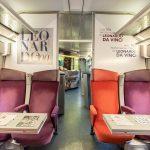 Milano e Leonardo 500 Tgv personalizzato in funzione