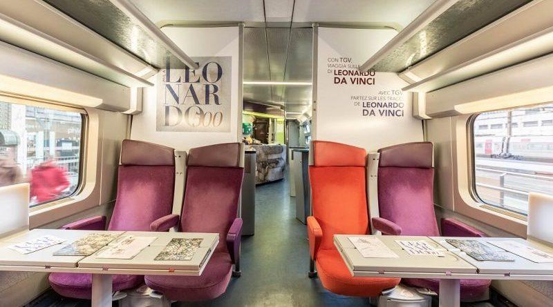 Milano e Leonardo 500 Tgv personalizzato