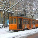 Risveglio con la neve a Milano: si raccomanda prudenza