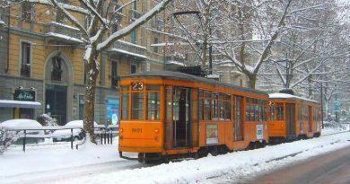 Risveglio con la neve a Milano