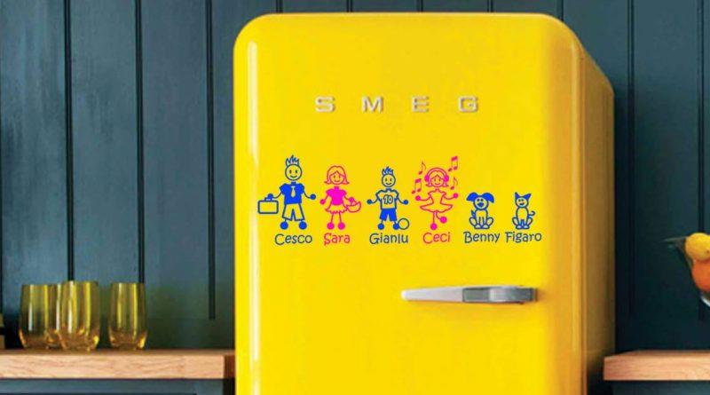 Sononato adesivi famiglia frigorifero