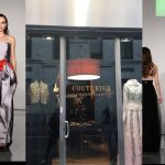 Gli abiti della stilista  Paola Filippone nel nuovo salotto della moda milanese