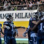 I Seamen Milano sono tornati al velodromo Vigorelli
