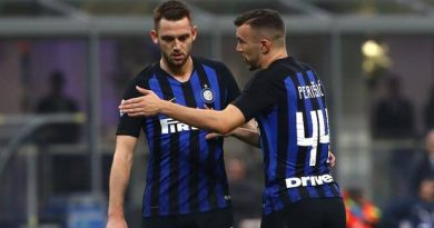 Inter-Lazio senza De Vrij