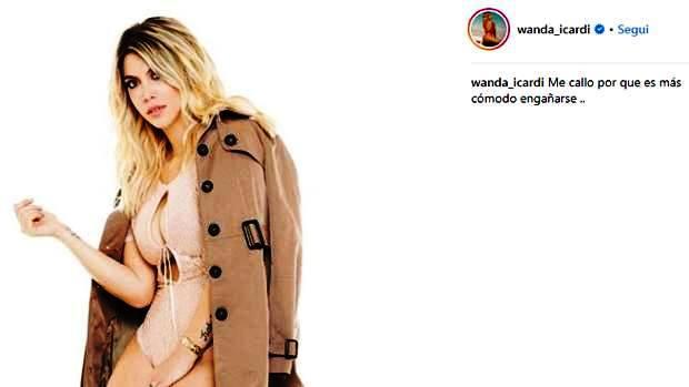 Wanda parla sui social