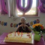 La super nonna milanese Maria festeggia 105 anni al Corvetto