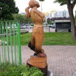 Statua dedicata a Giulia Lombardi incendiata a Vighignolo