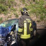 Auto travolta da un treno a Castelveccana: morti due ottantenni