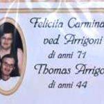 Felicita Carminati e il figlio Thomas Arrigoni trovati morti a Terno d'Isola