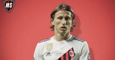 Modric al Milan