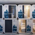 Ostelzzz Milano: al posto dei letti a castello ci sono le capsule