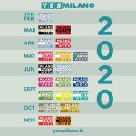YesMilano 2020: il calendario delle Week del prossimo anno