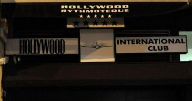 Spray al peperoncino nella discoteca Hollywood