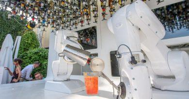 Il bar robotico di Milano