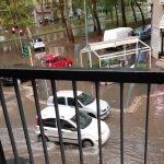 Esonda il Seveso: allagate strade in viale Marche, viale Zara e in zona Niguarda