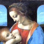 La Madonna Litta si può ammirare nel Museo Poldi Pezzoli