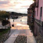 Il Ticino è esondato nel rione del Borgo Basso a Pavia
