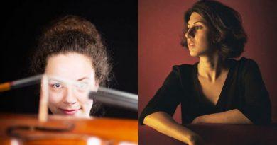 Beethoven e il violoncello, una storia a lieto fine - Usina Braun a sx e Alice Baccalini